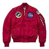 Alpha Industries MA-1 VF NASA Damen Jacke Rot M