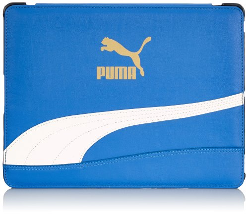 PUMA Tablet Tasche Bytes Cover Victoria Blue-White