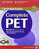 Complete PET for Spanish Speakers Workbook without Answers with Audio CD by Peter May (2011-05-30)