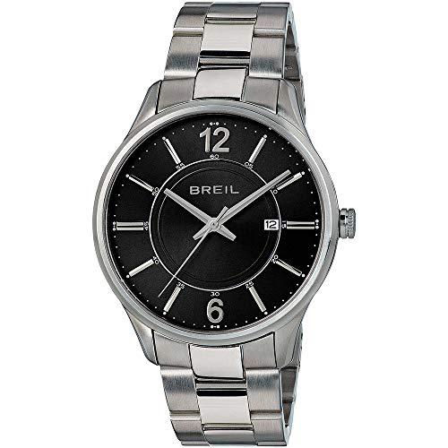 BREIL Reloj Contempo Hombre Sólo el Tiempo Negro - TW1772