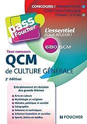 Pass'Foucher - QCM de culture générale Tous concours 3e édition