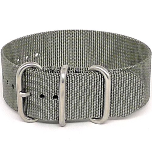 daluca-ballistic-nylon-nato-1-piece-watch-strap-grey-matte-buckle-24-mm