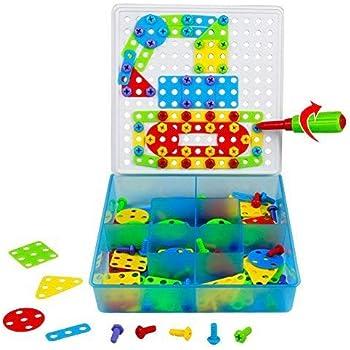 tonze jeu de construction puzzle enfant jouet fille garcon. Black Bedroom Furniture Sets. Home Design Ideas