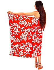 Funky Chemise Hawaienne, Sarong Hibiscus