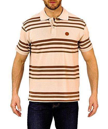 Winchester ready2Polo Short Sleeve Größe XL beige/braun/taupe