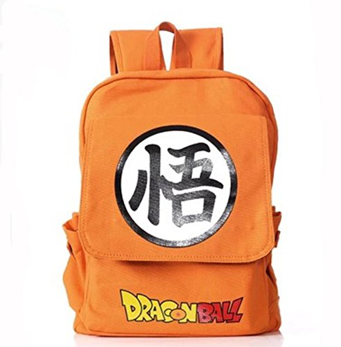 MOCHILA CON KANJI GO DRAGON BALL
