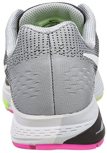 Nike Air Zoom Structure 19, Chaussures de Running Entrainement Femme Noir (Black/White/Pink Blast/Dark Purple Dust)