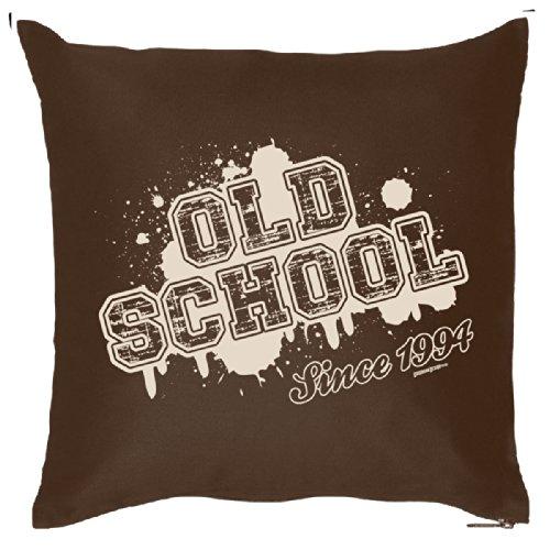 Geburtstags-Überzug ::: Old School since 1994 ::: fürs Kissen