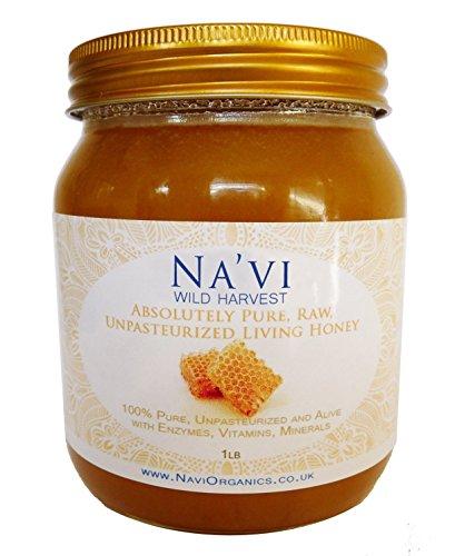 100 pure raw chunk honey comb in jar of raw honey 1 lb - HD1221×1491