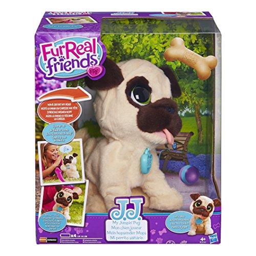 Fur Real Friends - Peluche J.J. mi Perrito Saltarín (Hasbro B0449EU4)