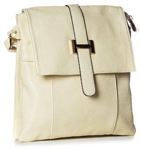 Big Handbag Shop, Borsa a spalla uomo One Light Beige