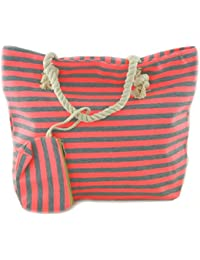 d83aa2214ba85 Shopper Strandtasche Badetasche Schultertasche Beach Bag