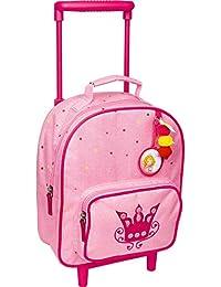 Mini-Trolley Maleta Pequeña Rosa de Princesa Lillifee con Corona