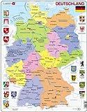 Deutschland (politisch) Puzzle 48 Teile