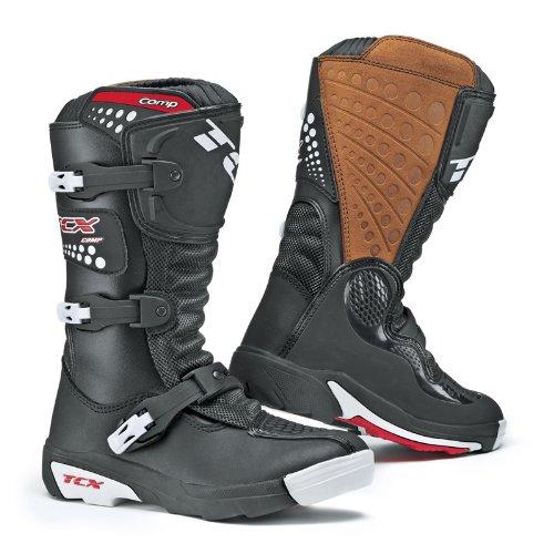 TCX - Bottes moto TCX COMP KID Noir