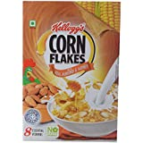 Kellogg's Corn Flakes with Real Almond and Honey with Iron Shakthi, 300g