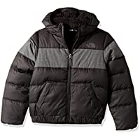 The North Face Moondoggy 2.0 – Chaqueta con capucha para niño, Niño, color Tnf Black, tamaño L