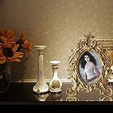 Giftgarden barocker Bilderrahmen im Format 10x15cm goldener ovaler Fotorahmen - 3