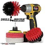 Drill Brush - Paglietta - Cleaning Supplies - - Kit Coperta - Scrub Brush - Doccia Cleaner - Vasca - Bagno Mat - Outdoor - Spin Brush - Patio - Brush Deck - - Concrete Bird Bath - Granito Cleaner