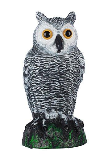 TIFANTI Repelentes Premium de Aves Colgantes de Anteojeras de Búho Para Palomas, Carpinteros, Patos Y Otras Especies