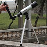 The Virgo Latests Land & Sky Telescope - Optical Glass & Metal Tube Refractor Telescope (90X Power) with Free Tripod & 2 Eyepieces