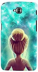 PrintVisa 3D-LGGPROLITE-D7698 Cartoon Fairy Case Cover for LG G Pro Lite