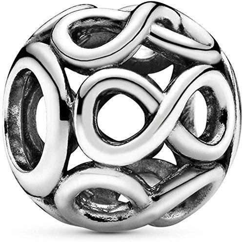 Pandora Damen Moments Offen gearbeitetes Unendlichkeits-Charm Sterling Silber 791872