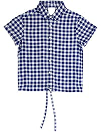 Poppers By Pantaloons Girls' Regular Fit Shirt