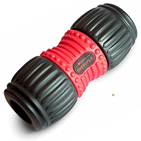 The Peanut PRO FOAM ROLLER #boom. Better Shaped For Your Body. ULTIMATE MUSCLE MASSAGE, Self Myofascial Release, Trigger Point Targeting. Perfect For Gym, Sports, Before And After Exercise, Back Relief, Recovery, Stretching, Muscles Soreness Relief, Injury Prevention, Rehabilitation, Improving Flexibility, Function And Performance