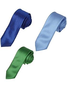 DAFF.01 Lazos de arco multicolores Corbata de doble cara con microfibra autoadhesiva Epoint