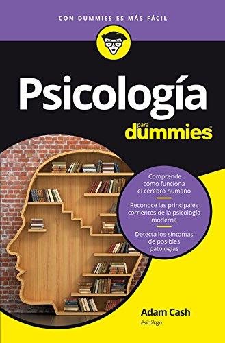 Psicología para Dummies por Adam Cash