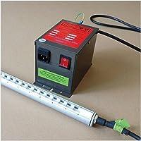 Generador de alto voltaje transformador con 700x 760mm barra de iones de antiestático antiestático Barra de aire de aire ionizador Bar 110V o 220V, 110V