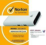 Norton Mobile Security 1 Gerät / 1 Jahr inkl. V7 11000 mAh PowerBank weiss - Bundle