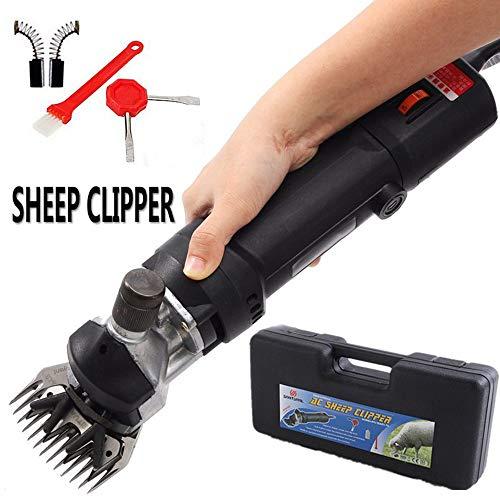 Professionelle Elektrische Schafschermaschine Clippers,690W&6 Geschwindigkeiten Einstellbar Schafschere Schermaschine Schafe,für Nutztiere Rasierpelz Wolle,Unterstützung für Schwere Scherarbeiten