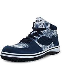 DDTX Unisex-Adultos 'Lightweight Steel Toe Hiker Zapatos de seguridad de trabajo Azul(39) 4ddYTTC