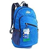 EGOGO multifunktionale haltbar stopfbare handlich leichte Reise Rucksack Daypack Schultasche Wandern Rucksack S2212