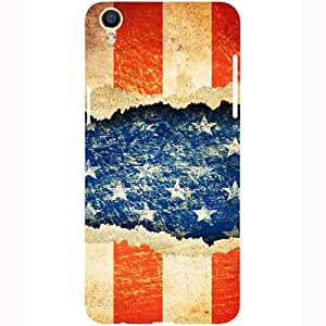 Casotec Sports Flag Pattern Design 3D Printed Hard Back Case Cover for Oppo F1 Plus