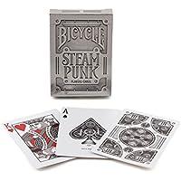 """US Playing Card Co. 1025591 - Carte da gioco stile """"Steampunk"""" colore Argento"""