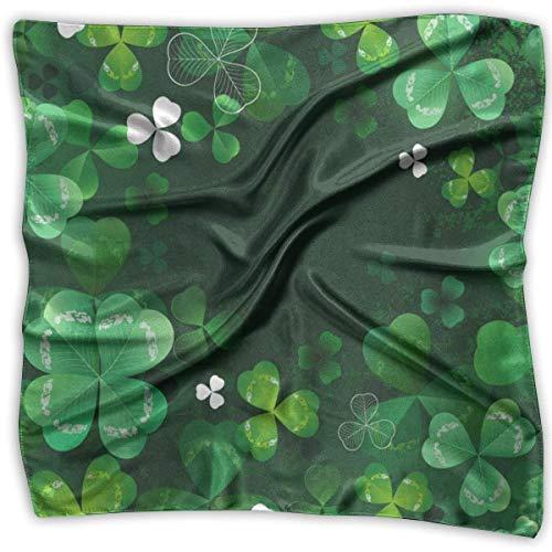 Voxpkrs Quadratischer Schal Halloween Dark Castle Hexe Taschentuch Unisex Taschentuch Krawatte für Mann