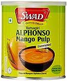 #7: Swad Alphonso Mango Pulp Sweetened, 850g