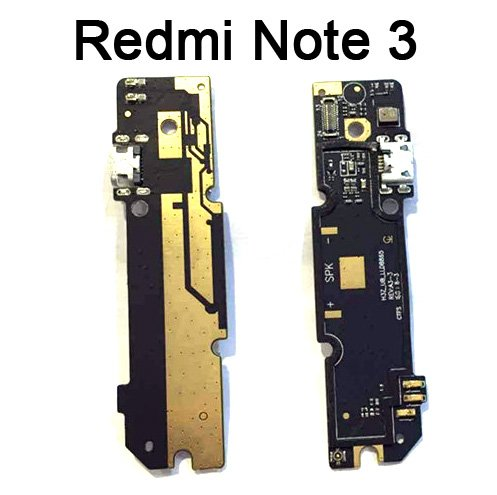 spare24 Abshara USB Port Mic Antenna PCB Flex Board Connector for Xiaomi RedMi-Mi Note 3