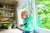 ABUS 73136 Fensterfeststeller Nino JC7100, weiß - 4