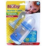 Nuby Infant Feeding Set - PURPLE, 120ml