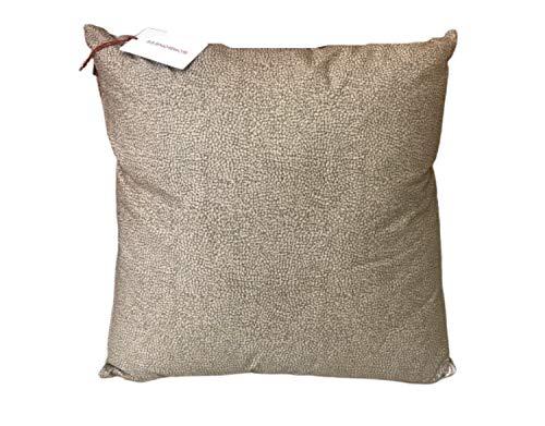 Borbonese cuscino opla' 60x60 sfoderabile in percalle di puro cotone