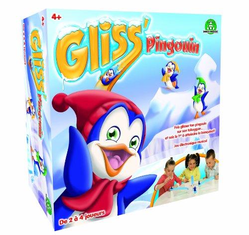 Giochi preziosi - 9644 - Jeu d'action et de réflexe - Gliss' Pingouins