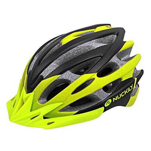 nuckily In-Mold-Design CE-Sicherheitsstandard Fahrradhelm Neongrün