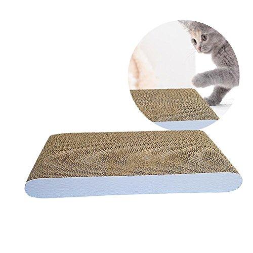 Purebesi Kratzbrett für Katzen, Katzen, Karton, gewellt, für Katzen, Katzen, Kratzbrett, Karton, Kratzbrett für Katzen