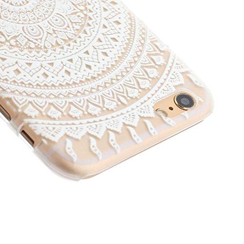 Phone case & Hülle Für IPhone 6 Plus / 6S Plus, Ultra-dünne transparente stereoskopische Diamant verkrustete Pflaume TPU Schutzhülle ( SKU : S-IP6G-0641B ) S-IP6G-0641A