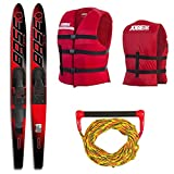"Base Sports Vapor Combo Ski Package Wasserski 67"" 170cm (Rot)"