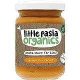 Petite pâtes Organics gratuit de Pumpkin & Carotte Sauce 130g